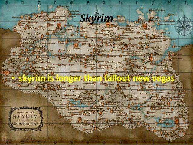 Presentacion skyrim vs fallout new vegas