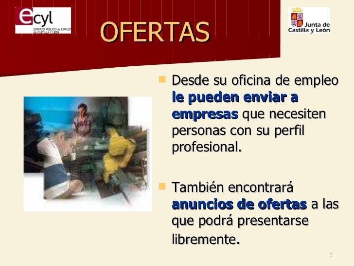 Presentacion slideshare oficina de empleo del ecyl - Oficina de empleo leon ...