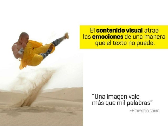 Usando contenido visual para generar emociones