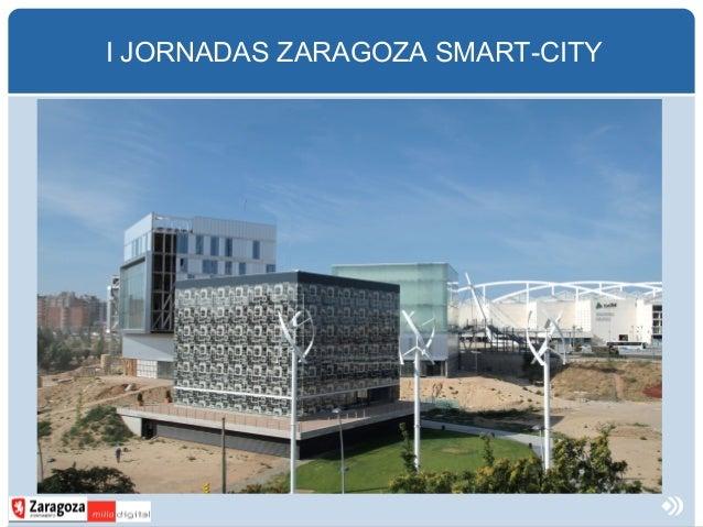 I JORNADAS ZARAGOZA SMART-CITY