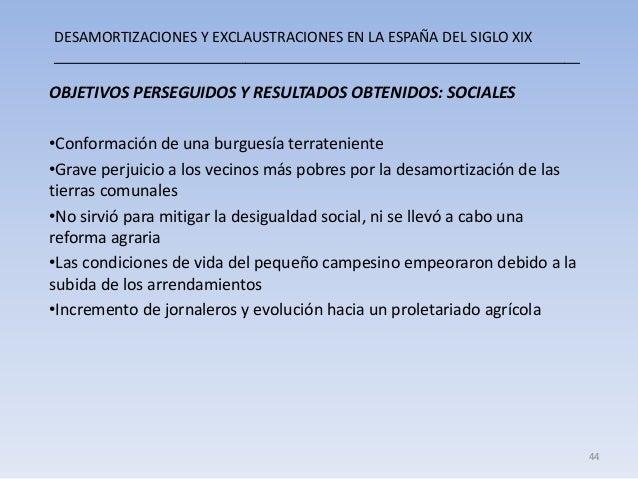 DESAMORTIZACIONES Y EXCLAUSTRACIONES EN LA ESPAÑA DEL SIGLO XIX __________________________________________________________...
