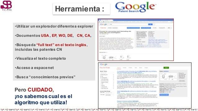 Fuentes de informaci n de patentes y marcas - Oficina europea de patentes y marcas alicante ...