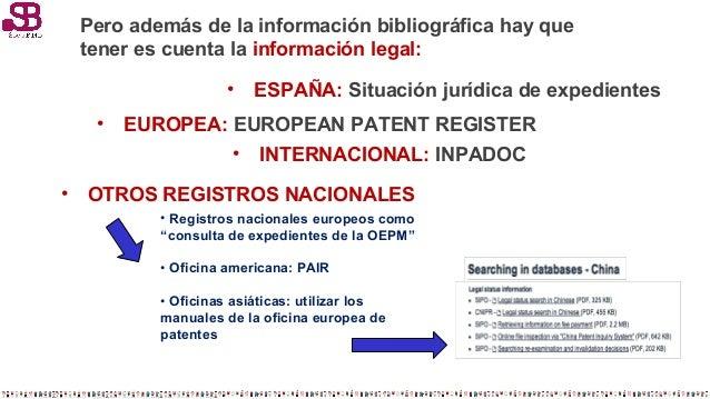 Fuentes de informaci n de patentes y marca presentaci n for Oficina europea de patentes