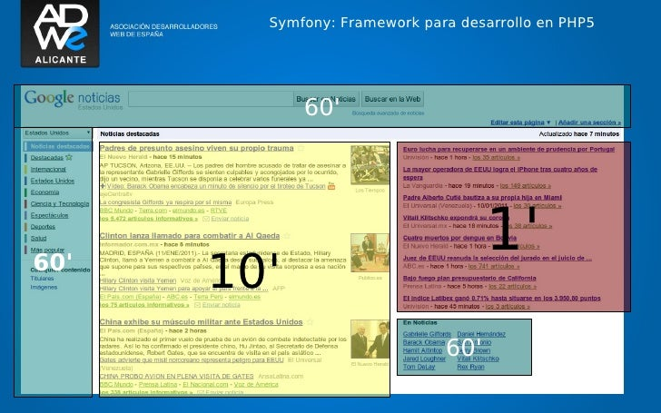 Symfony: Framework para desarrollo en PHP5                              60                                                ...