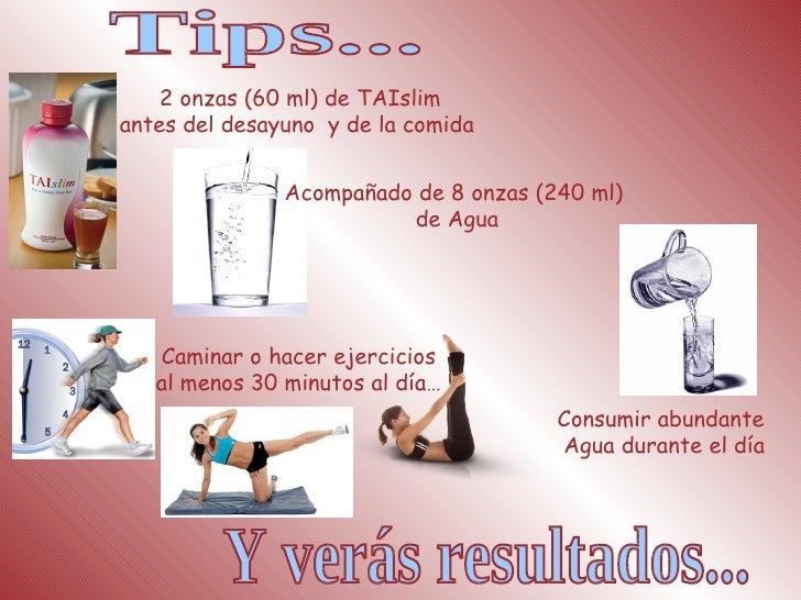Para bajar de peso tomar agua