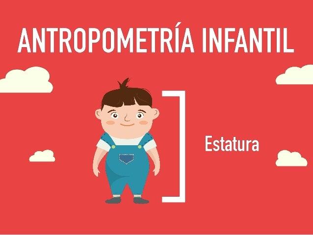 Antropometria infantil for Antropometria de la vivienda