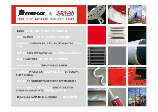 Presentacion tecresa proteccion pasiva export español argelia Slide 2
