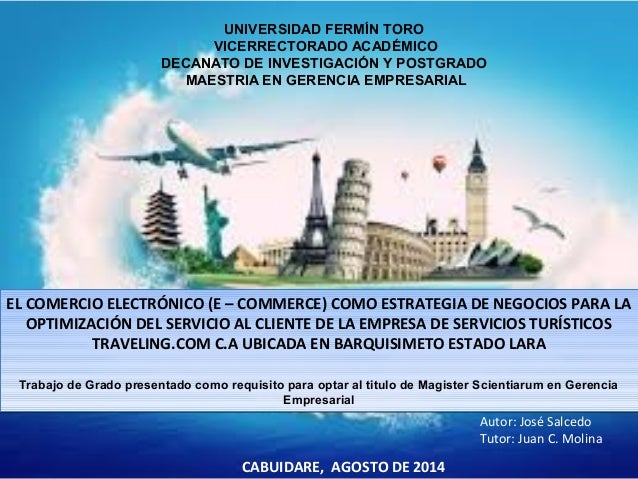 UNIVERSIDAD FERMÍN TORO  VICERRECTORADO ACADÉMICO  DECANATO DE INVESTIGACIÓN Y POSTGRADO  MAESTRIA EN GERENCIA EMPRESARIAL...
