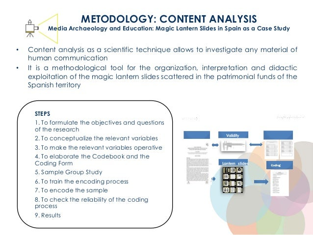 • Content analysis as a scientific technique allows to investigate any material of human communication • It is a methodolo...