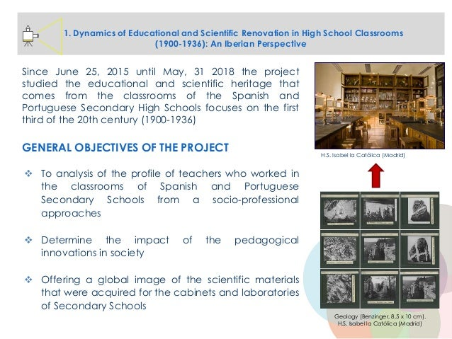 1. Dynamics of Educational and Scientific Renovation in High School Classrooms (1900-1936): An Iberian Perspective Since J...