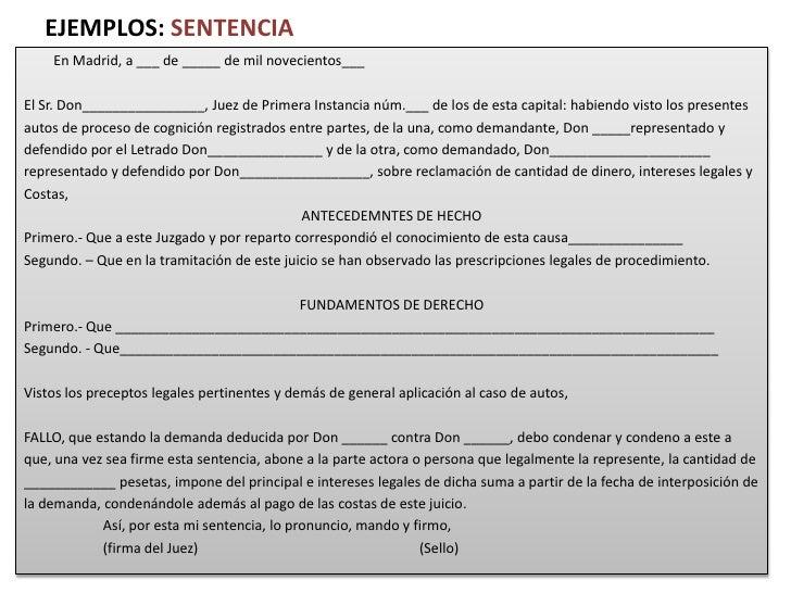 Presentacion tipologia especial for Oficina liquidadora madrid