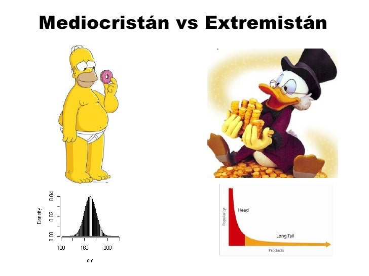 Mediocristán vs Extremistán