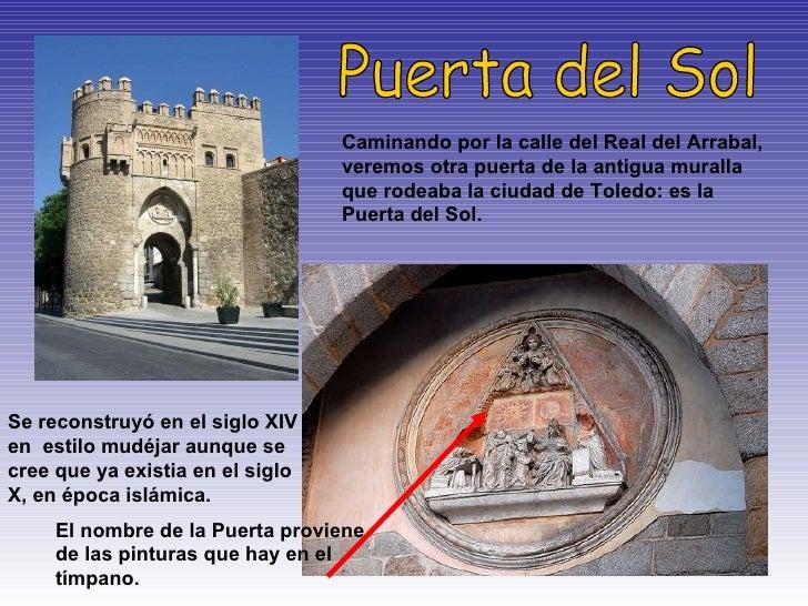 Presentacion toledo for Puerta del sol 4