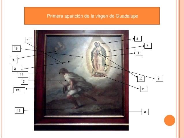Primera aparición de la virgen de Guadalupe              1                                             8                  ...
