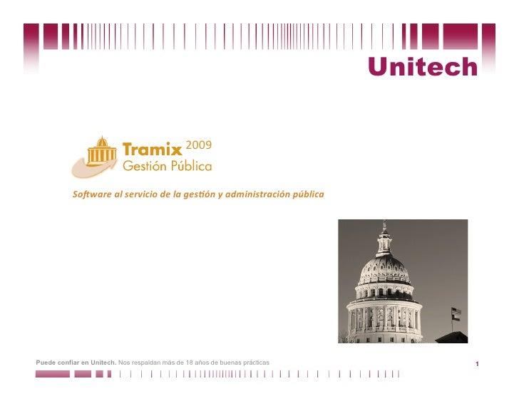 Unitech                                                 2009              So#warealserviciodelages0ónyadministraci...