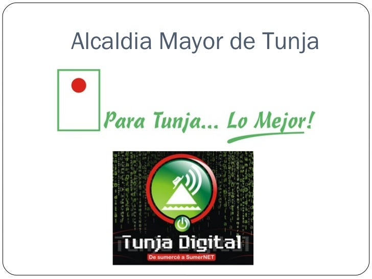 Alcaldia Mayor de Tunja