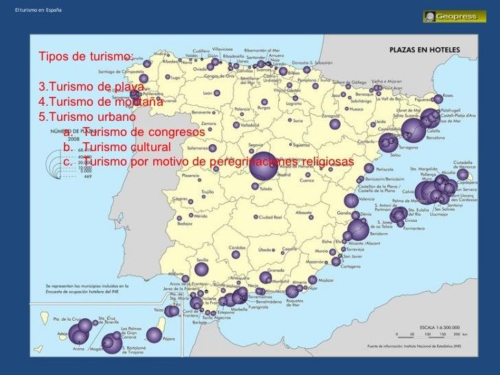 El turismo en espa a for Oficina de turismo de croacia en madrid