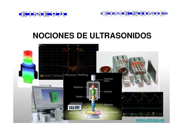 NOCIONES DE ULTRASONIDOS www.eimeva.es