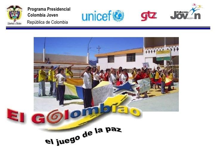 Programa Presidencial Colombia Joven República de Colombia
