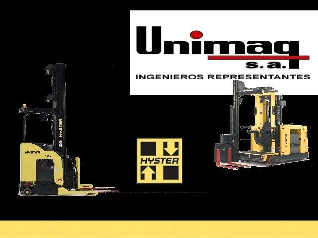 Quienes Somos UNIMAQ S.A. es una empresa que nace hace mas  de 56 años. Somos una empresa especializada en  la comerciali...