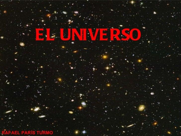EL UNIVERSO   RAFAEL PARÍS TURMO