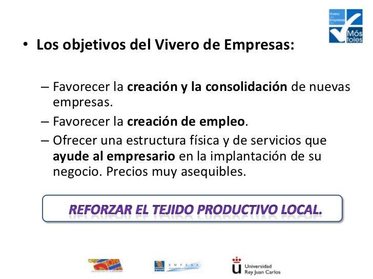 Presentaci n vivero de empresas m stoles for Vivero estructura