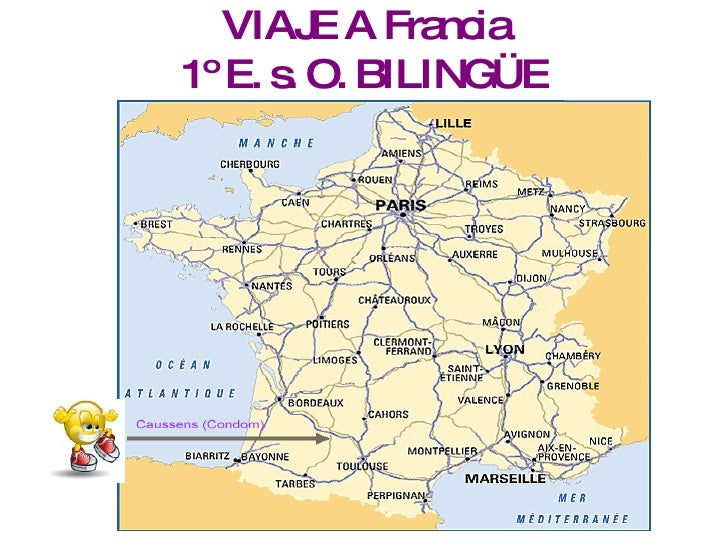 VIAJE A Francia 1º E. s. O. BILINGÜE