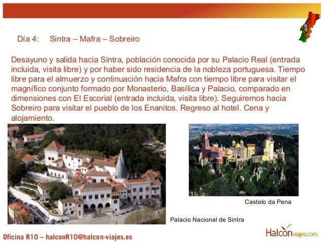 Presentaci n viaje de estudios portugal - Oficinas viajes halcon ...