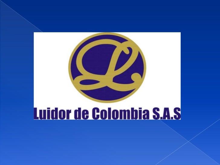 Luidor de Colombia S.A.S. nace como apoyo tecnológico para laindustria petrolera (Soporte a Válvulas Electrónicas y Reacto...