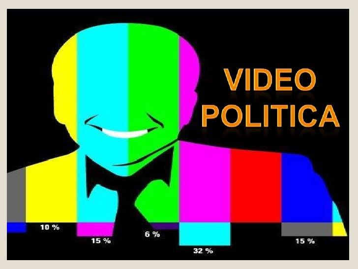 El término videopolítica aparece cada vez más como un lugar común al analizar las modalidades concretas de interrelación e...
