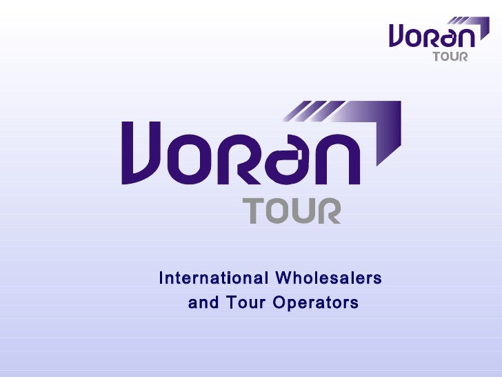 International Wholesalers     and Tour Operators