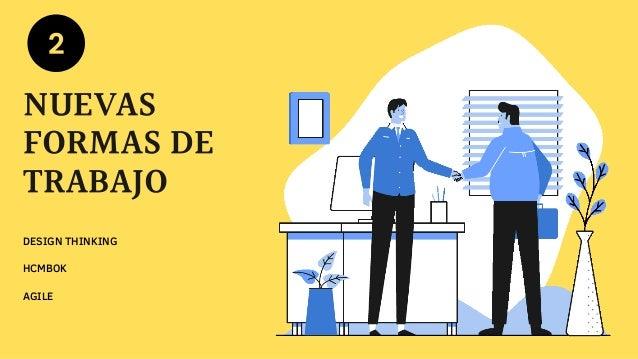 DESIGN THINKING NUEVAS FORMAS DE TRABAJO HCMBOK AGILE 2