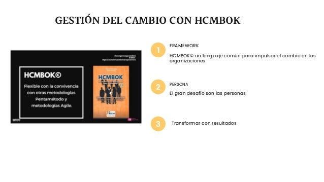 PERSONA El gran desafío son las personas FRAMEWORK HCMBOK© un lenguaje común para impulsar el cambio en las organizaciones...