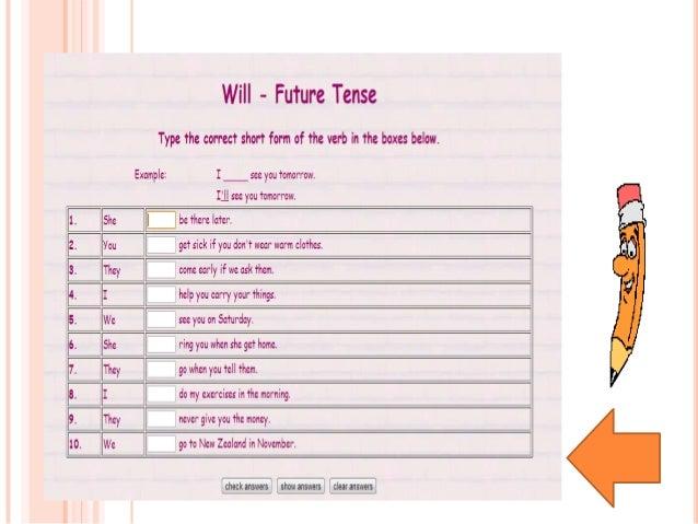 Future be going tohttp://www.agendaweb.org/http://www.carmenlu.com/first/grammar/begoingto1_2.htmhttp://www.kico4u.de/engl...