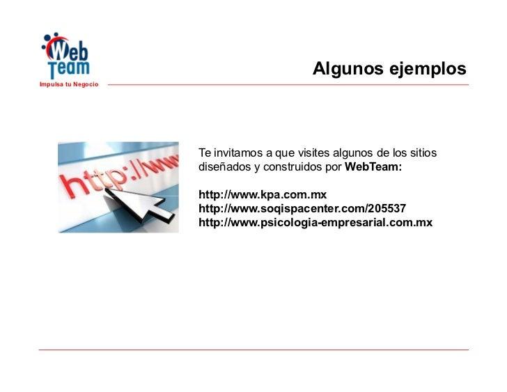 Presentacion webteam impulsa tu negocio Slide 3
