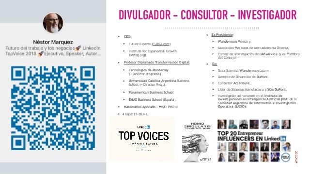 Nestor Marquez WFSF Mexico 2019 El Futuro del Trabajo en el 2050  v3 Future of Work Digital Transformation Transformación Digital Slide 2