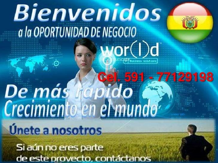 Cel. 591 - 77129198<br />