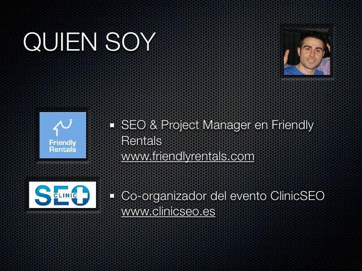 WPO - Congreso SEO4SEOS Slide 2