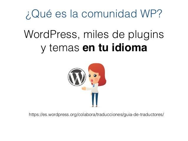 Presentación WordPress Pontevedra