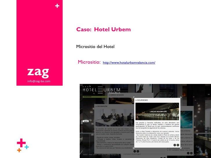 Caso Hotel Urbem - Zag Slide 2
