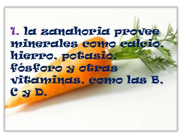 Beneficios De La Zanahoria Los carbohidratos de la zanahoria. beneficios de la zanahoria