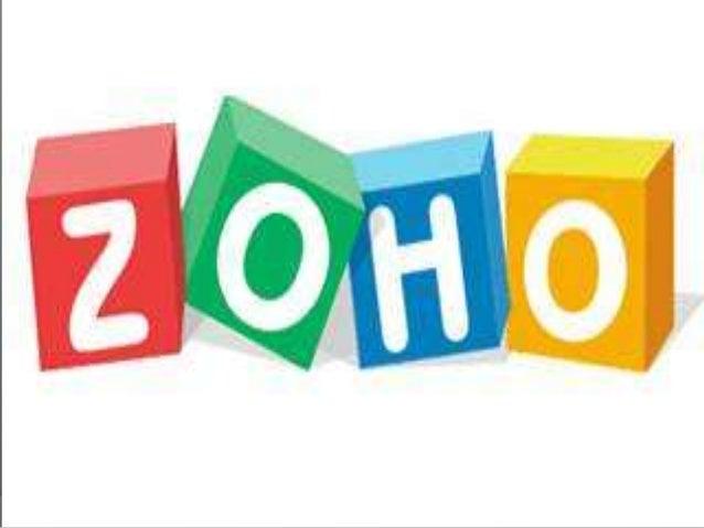 Introducción  ¿Qué es?  Zoho es una 'office suite' en línea que ofrece todo un completo abanico de aplicaciones que incl...
