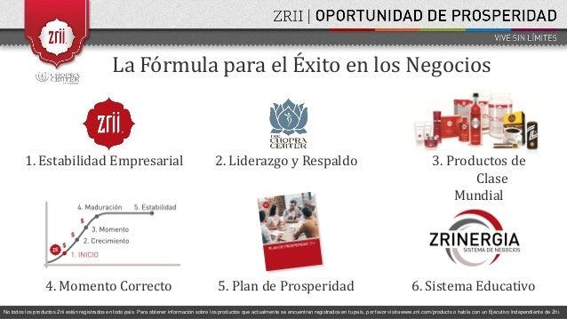 Presentación de Oportunidad Zrii Corporativa. SAEZ Slide 2