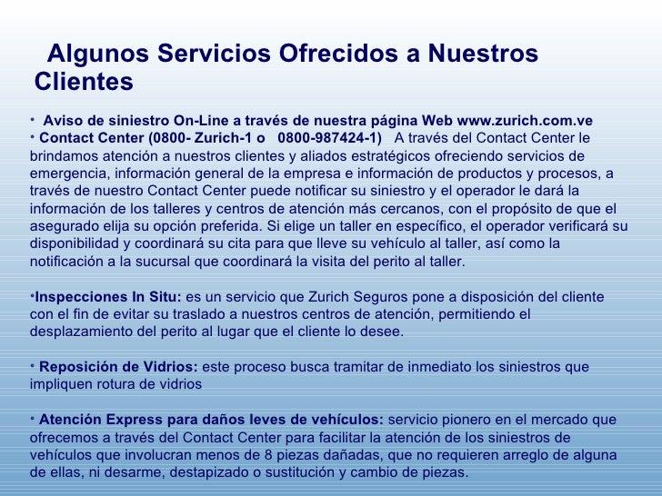 Presentaci n corporativa de zurich for Oficina zurich valencia