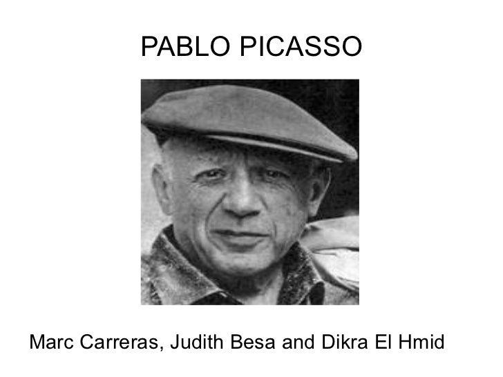 PABLO PICASSOMarc Carreras, Judith Besa and Dikra El Hmid