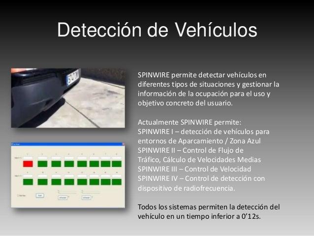ObjetivosLos Objetivos determinados para el sistema SPINWIRE son varios, todosbasados en una rápida detección y la monitor...