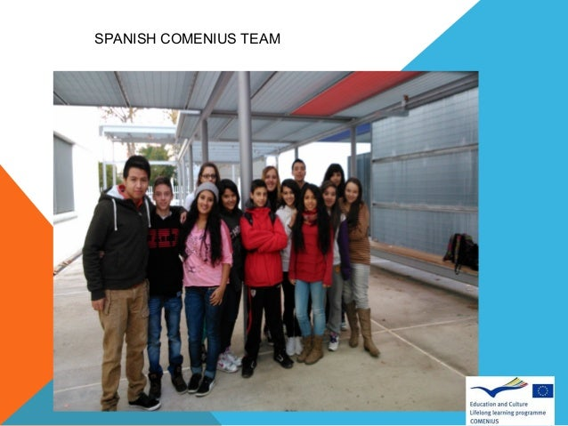 SPANISH COMENIUS TEAM