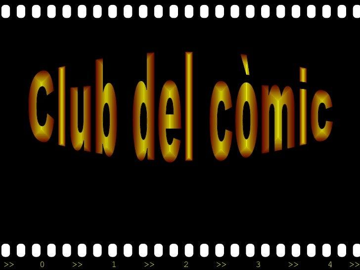 Club del còmic