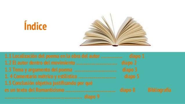 Índice 1.1 Localización del poema en la obra del autor ……………. diapo 1 1.2 El autor dentro del movimiento ………………………… diapo ...