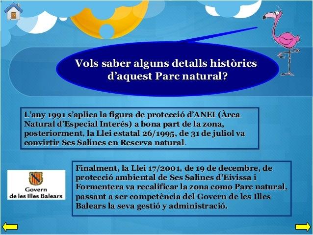 Vols saber alguns detalls històrics d'aquest Parc natural?  L'any 1991 s'aplica la figura de protecció d'ANEI (Àrea Natura...